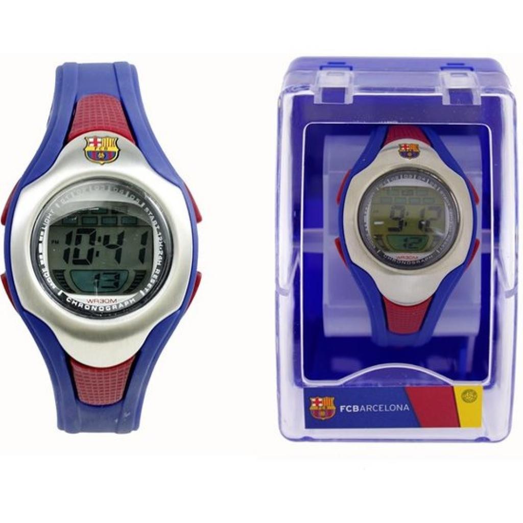 Reloj pulsera digital cadete fútbol club barcelona