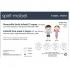 Mascarilla higiénica desechable infantil 3 capas - 10 unidades