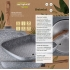 Bateria de cocina 12 piezas san ignacio cassel en acero inoxidable con juego de sartenes (18/22 centímetros) y grill 28x28 centímetros san ignacio dai