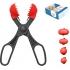 La croquetera pack - 4 moldes intercambiables para masas + 20 bandejas - rojo