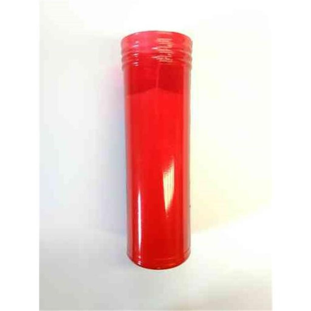 Velon rojo mediano l-50- de parafina